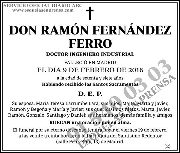 Ramón Fernández Ferro